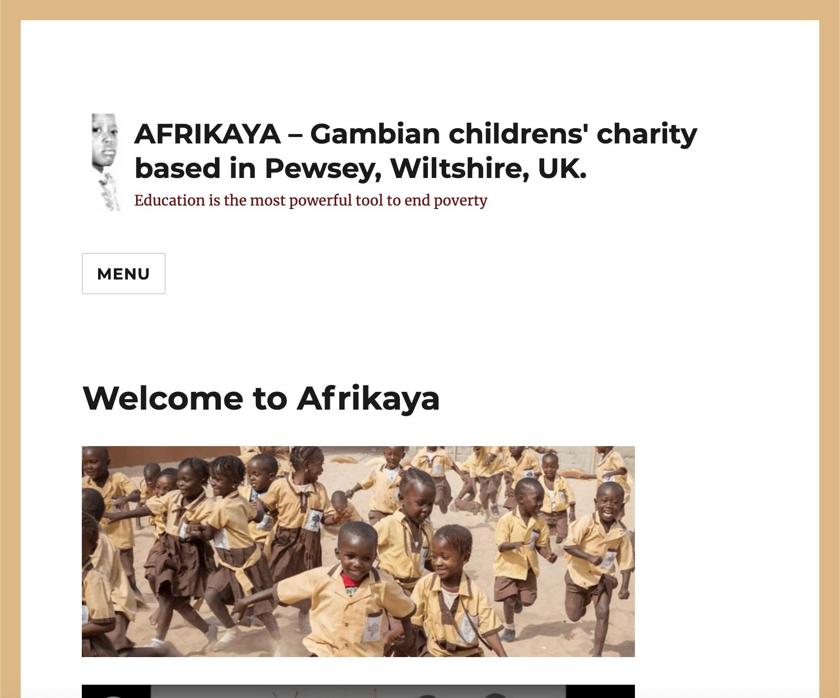 Afrikaya website